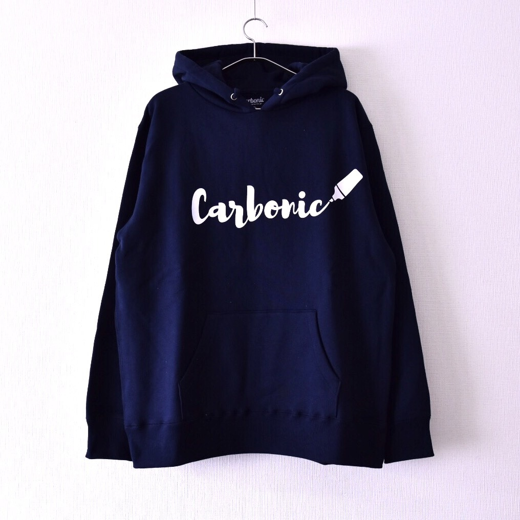 carbonic THROW UP hooded parka
