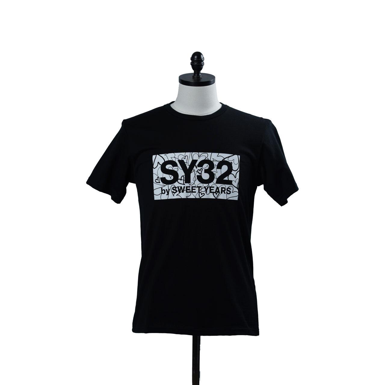 SY32 HEART BOX LOGO TEE(10023J)
