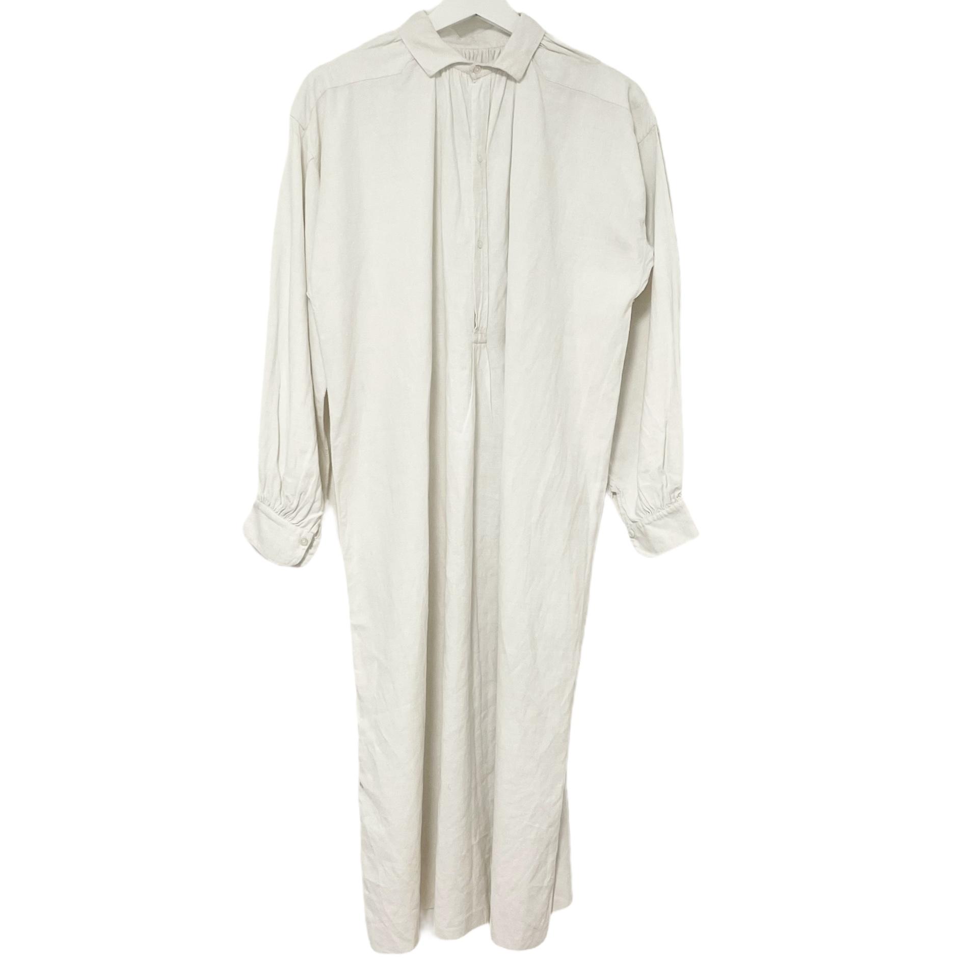 2 French Antique Linen Shirt