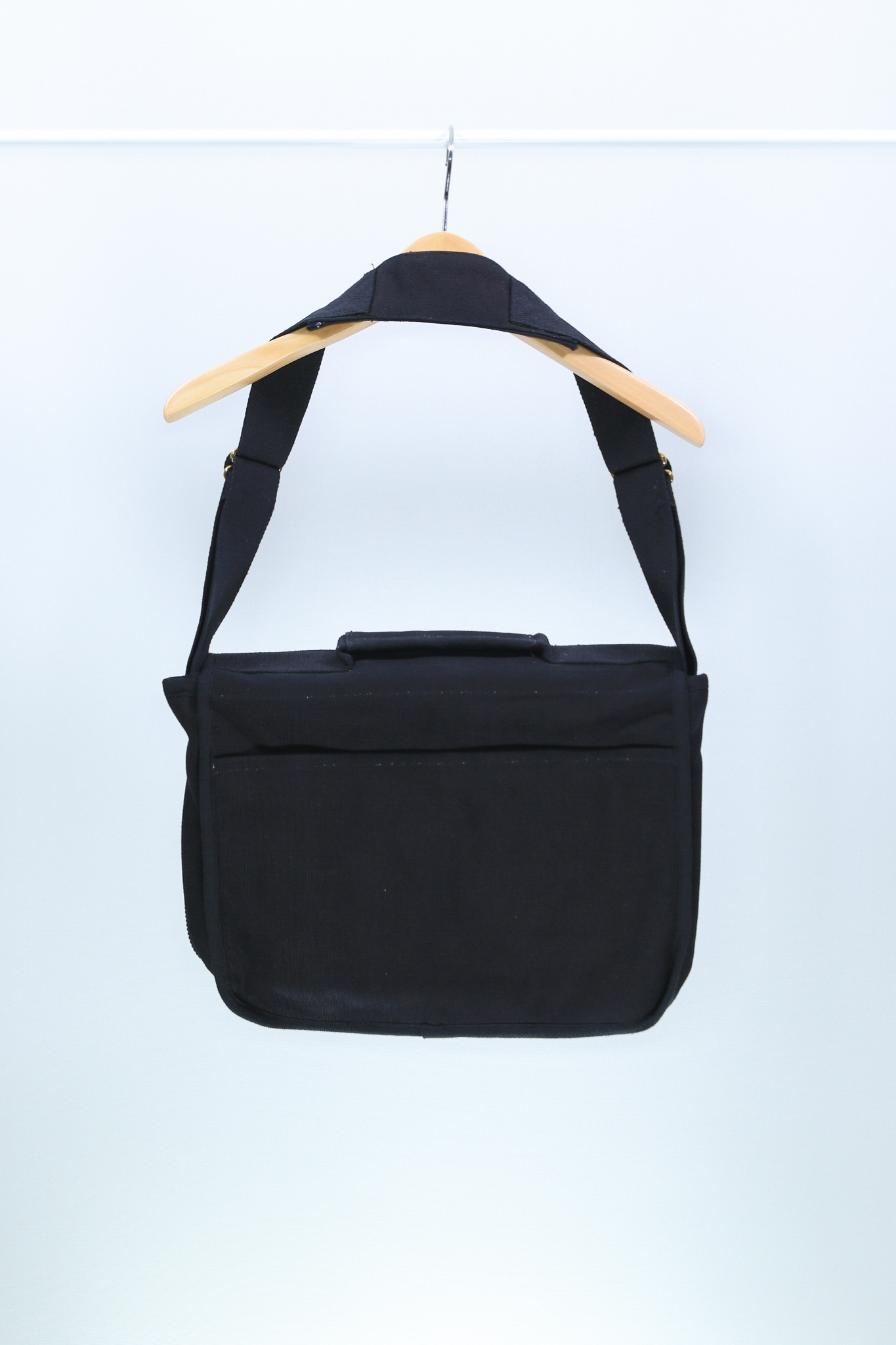 Euro Blazz Canvas School Bag [BLACK]