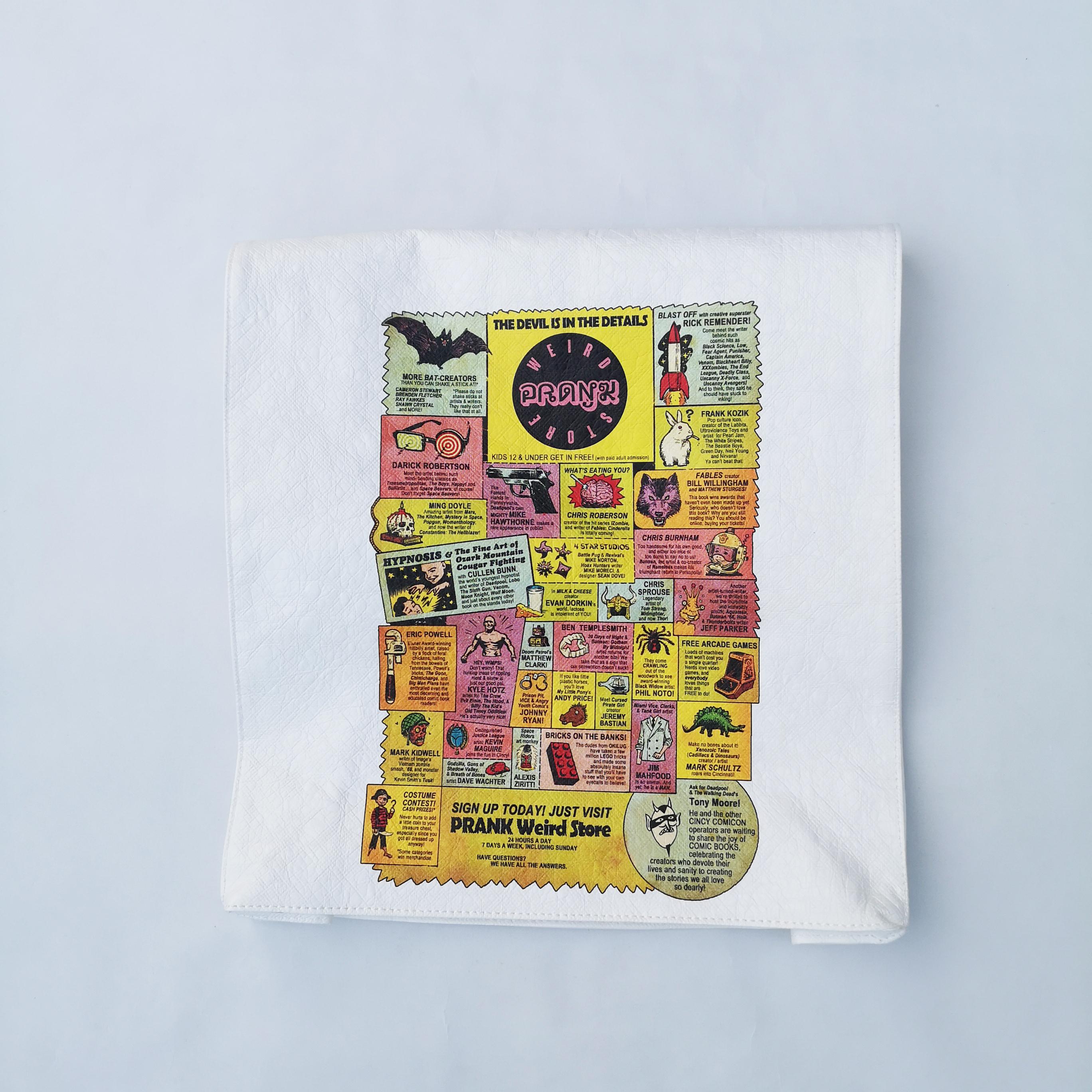 PRANK Vintage AD PAPER BAG (タイベック素材)