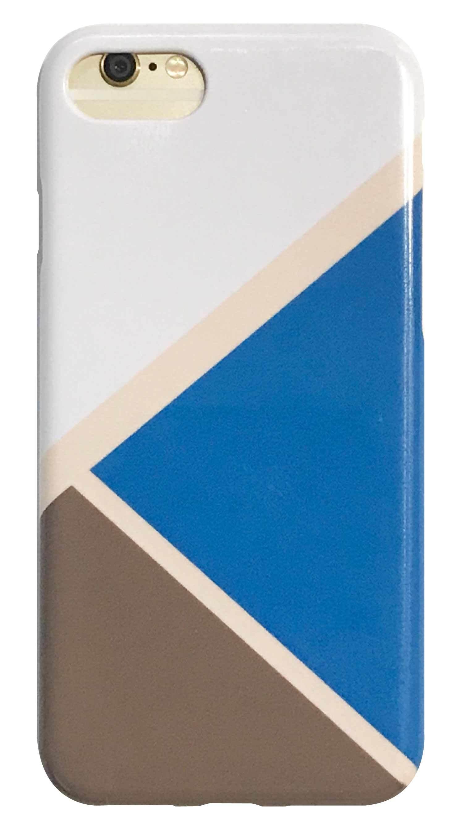 マットパレット ブルー つや有りハードケース
