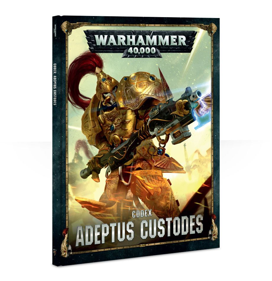 【20%OFF!】Codex: Adeptus Custodes (英語版・8版)