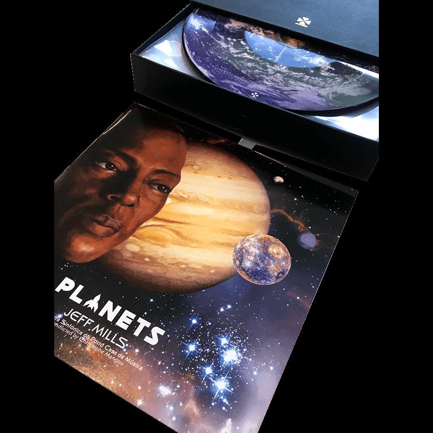 【数量限定】ジェフ・ミルズ - Planets 7インチアナログ盤×9枚組・ボックスセット - 画像5
