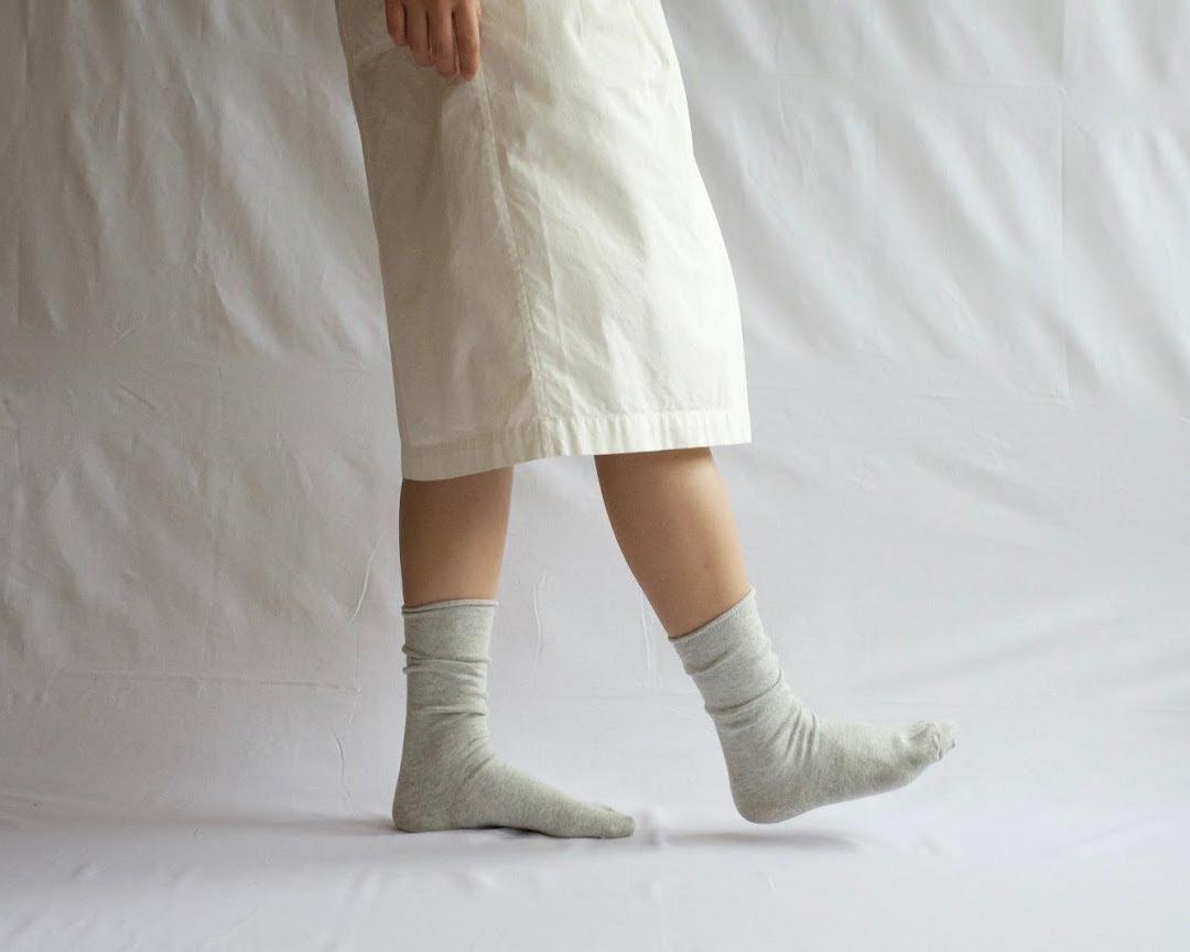 NISHIGUCHI KUTSUSHITA 西口靴下 カシミヤコットンソックス / CASHMERE COTTON SOCKS