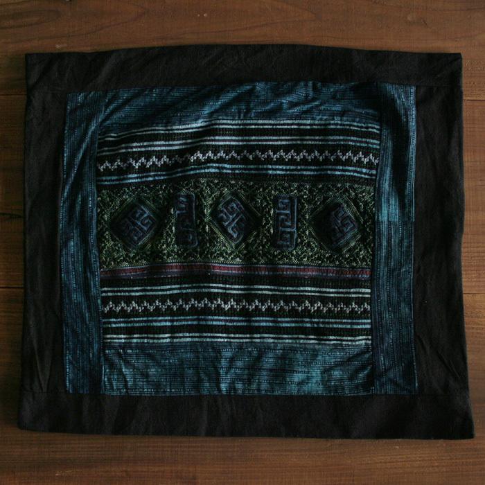 藍染め刺繍クッションカバー / VIETNAM ベトナム