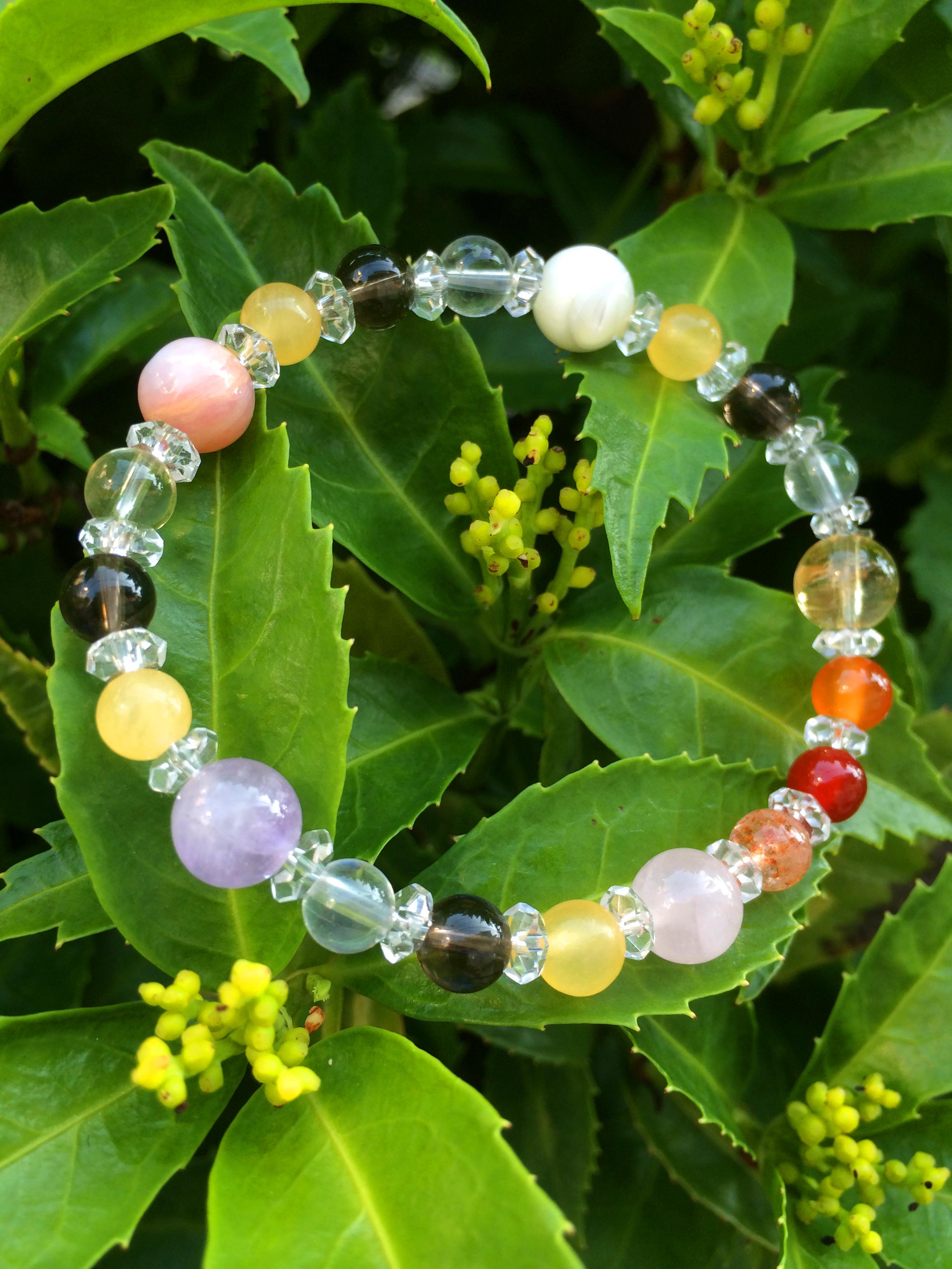 Amaterasu 天照大神 gemstone bracelet
