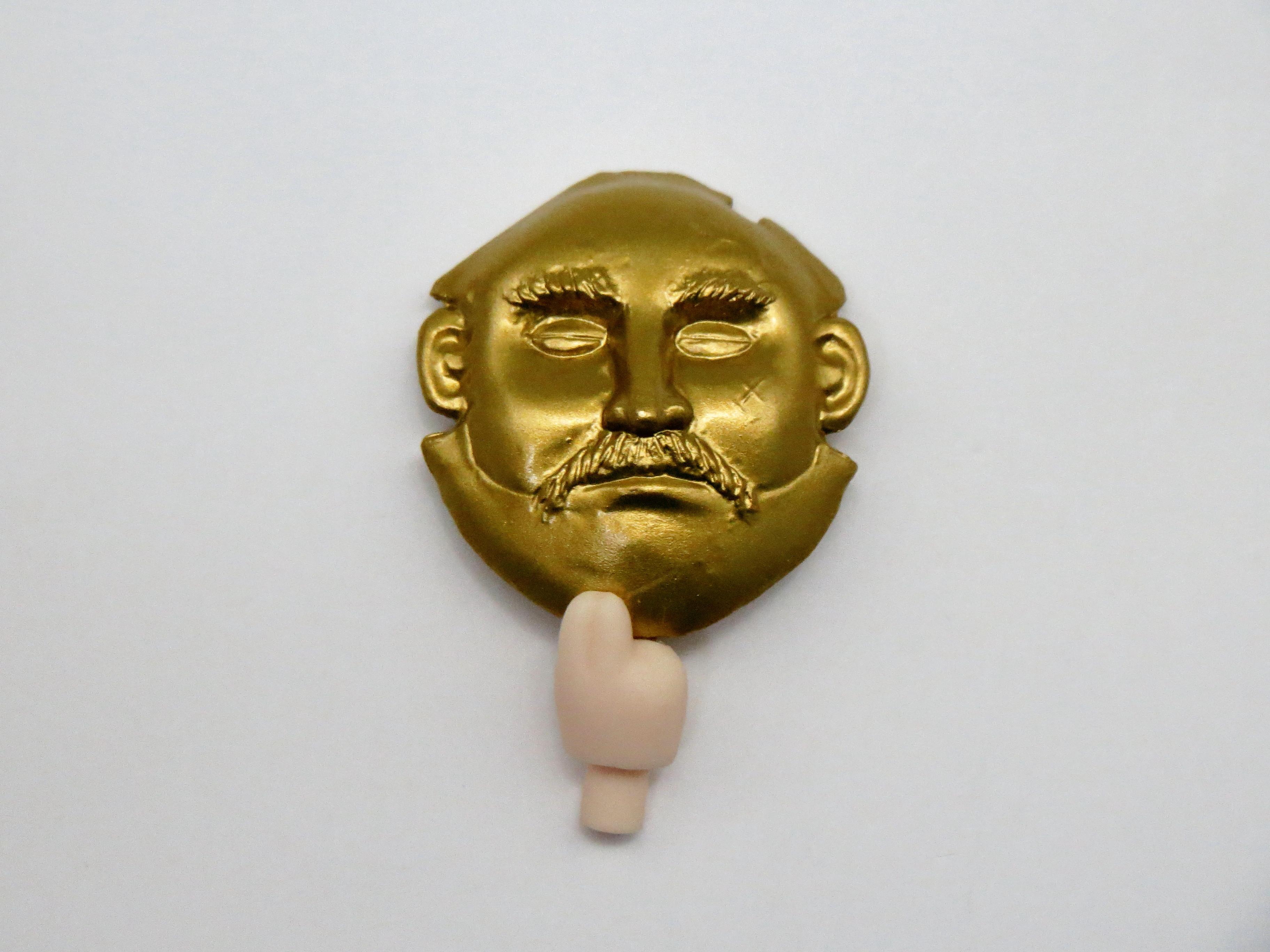 【226】 明智小衣 小物パーツ 黄金仮面 ねんどろいど