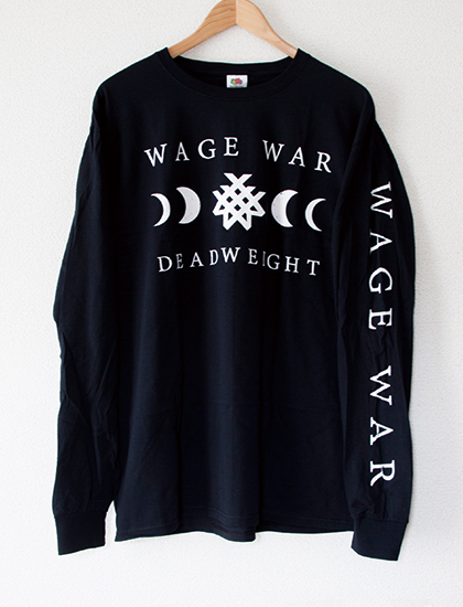 ※再入荷予定あり【WAGE WAR】Deadweight Long Sleeve (Black)