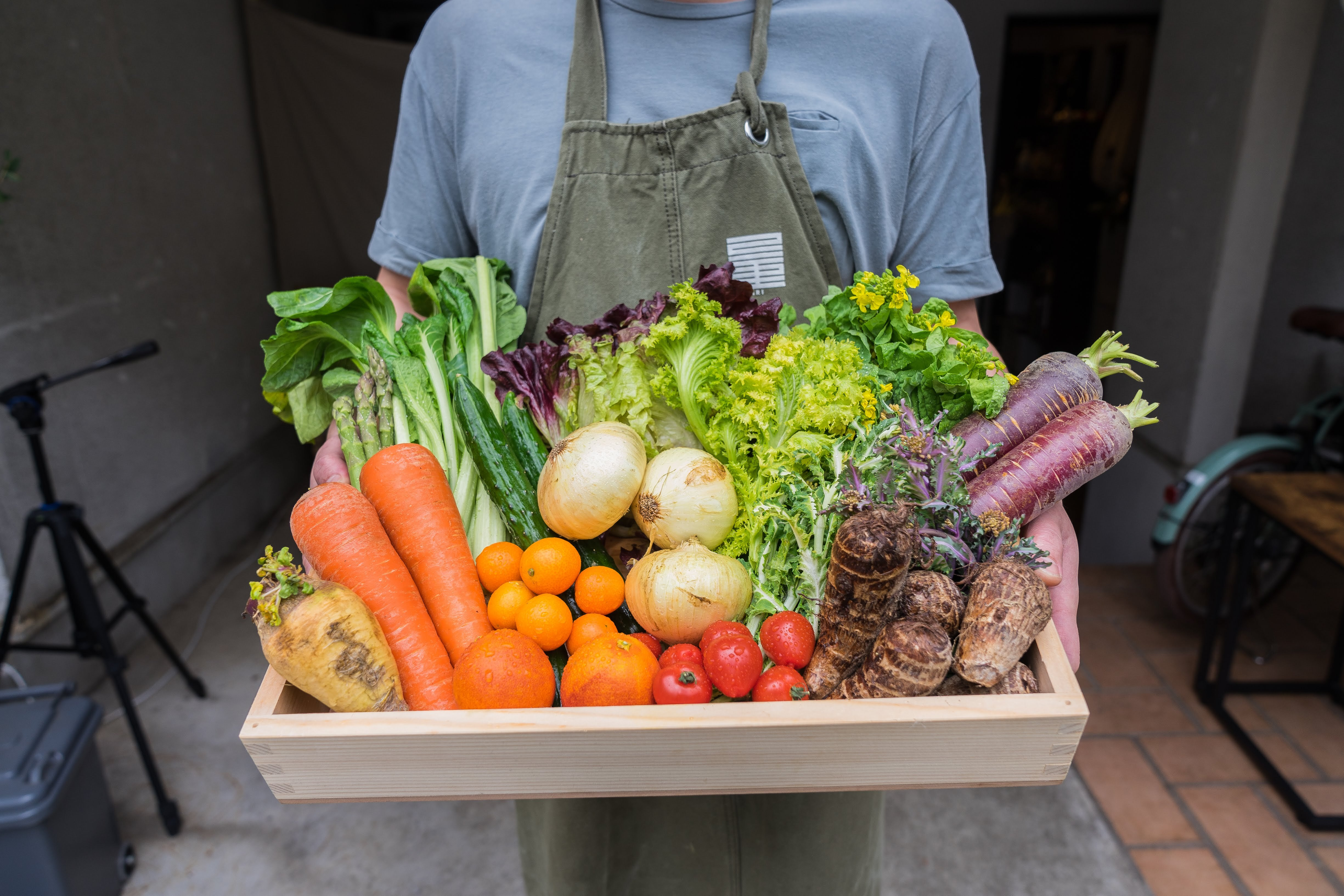 おまかせ産直野菜&果物セット