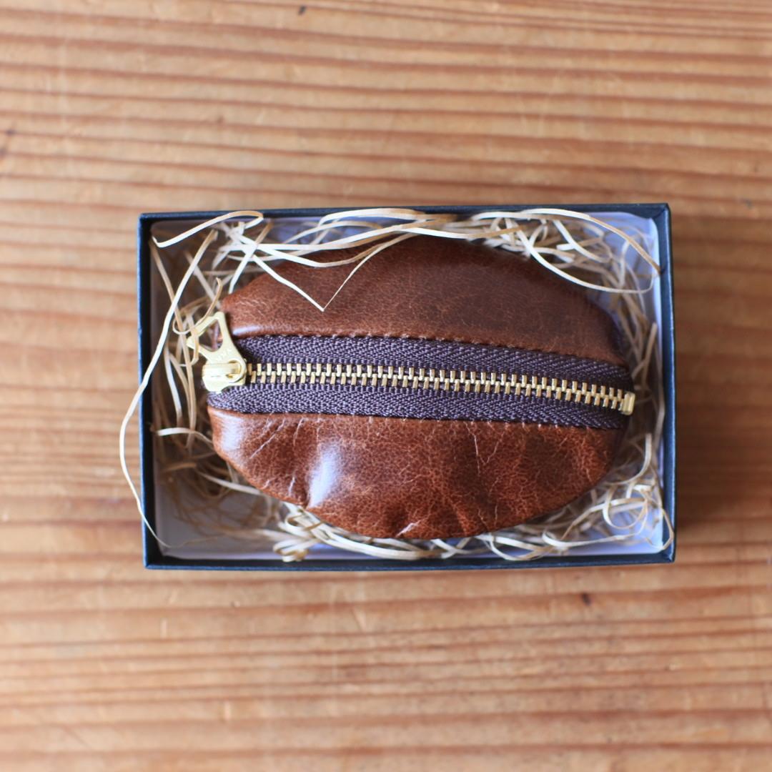 「豆」コインケース(輪怐×トスティーノコーヒー)