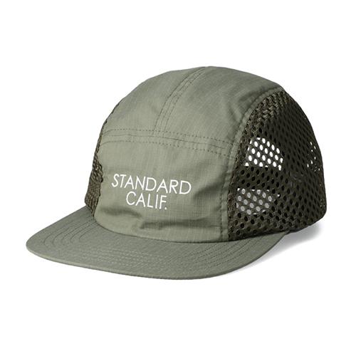 STANDARD CALIFORNIA #SD Coolmax Stretch Ripstop Camp Cap Olive