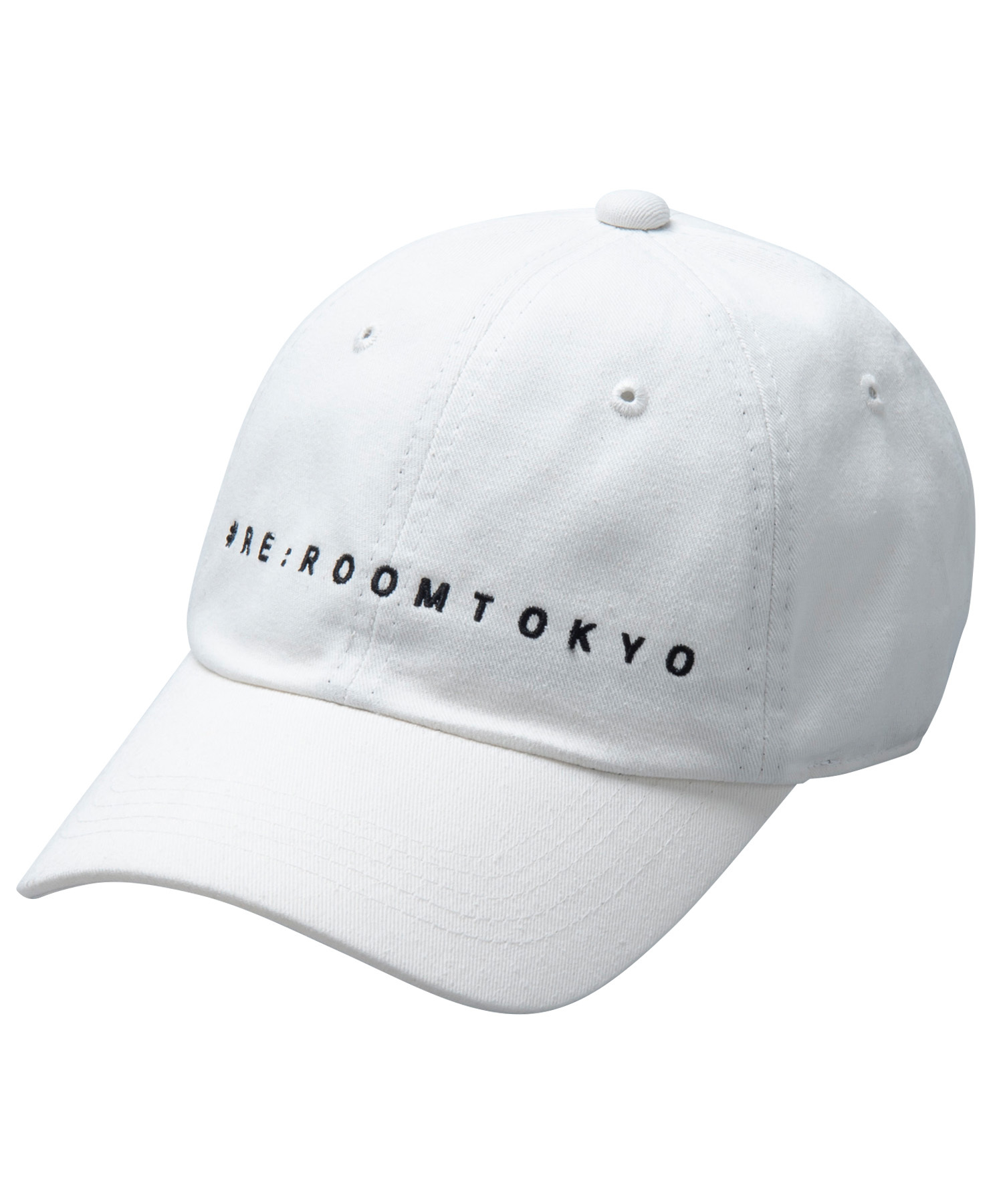 SMALL LOGO TWILL CAP[REH082]