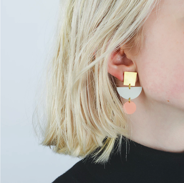 Tom Pigeon -Shipwreck Drop Earring Pair(ピアス)-