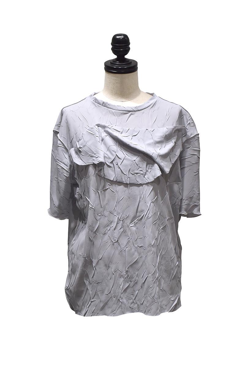 todo kotohayokozawa / crash top(big) short sleeve / Gray