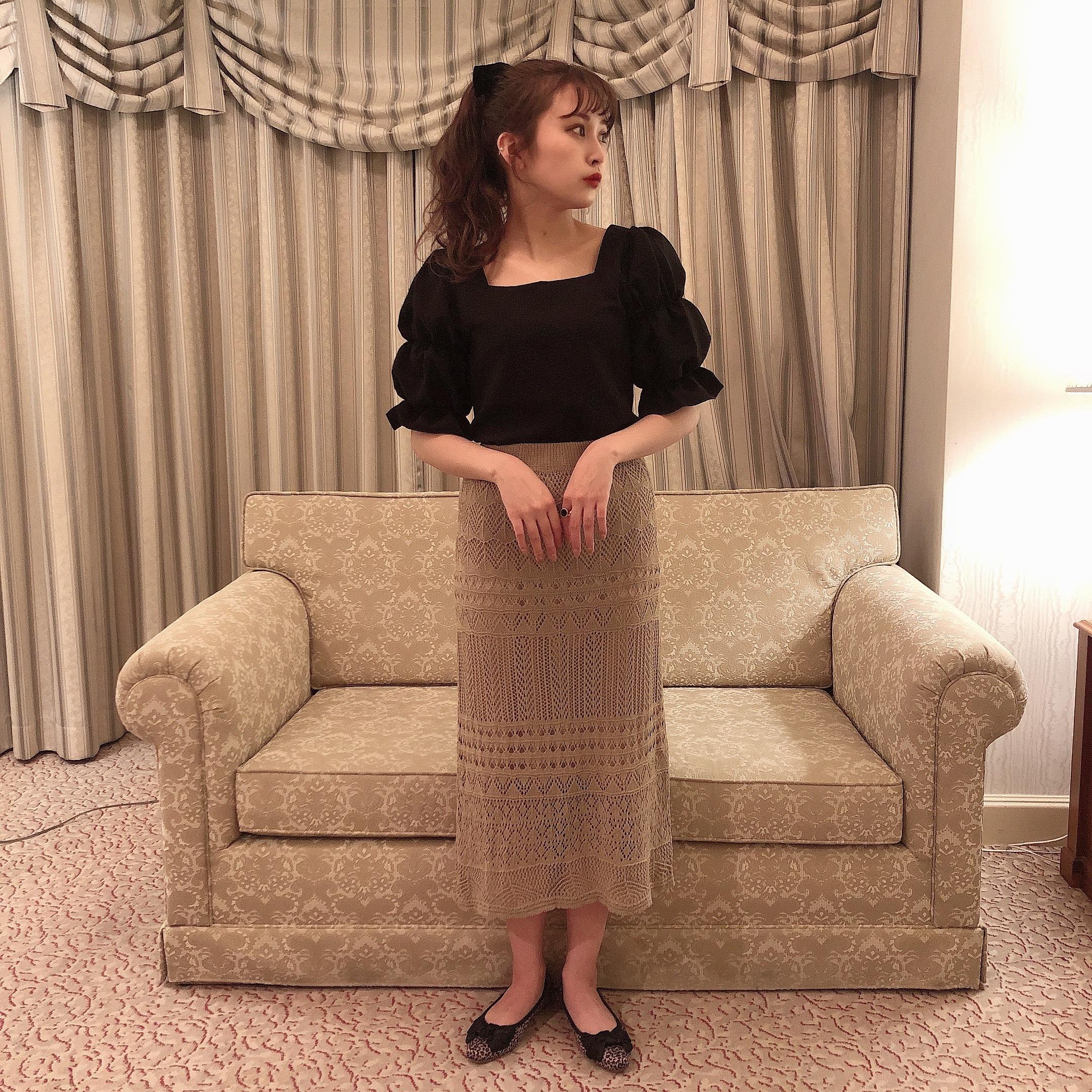 elegant race skirt