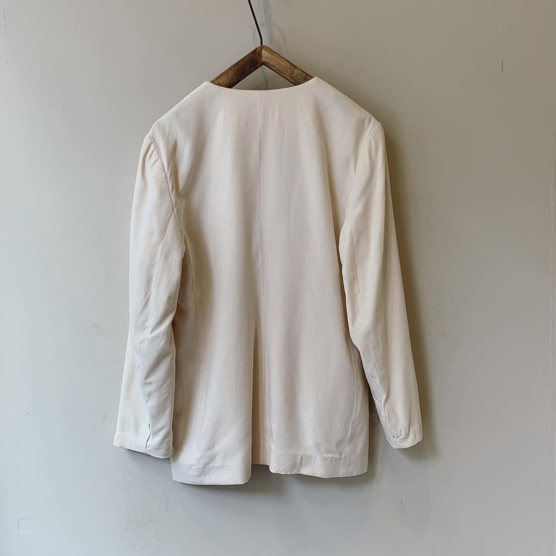 vintage silk tailored jacket