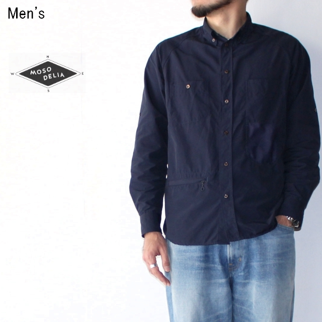 MOSODELIA ユースフルシャツ Useful Shirts  18SS-S-001 (NAVY)
