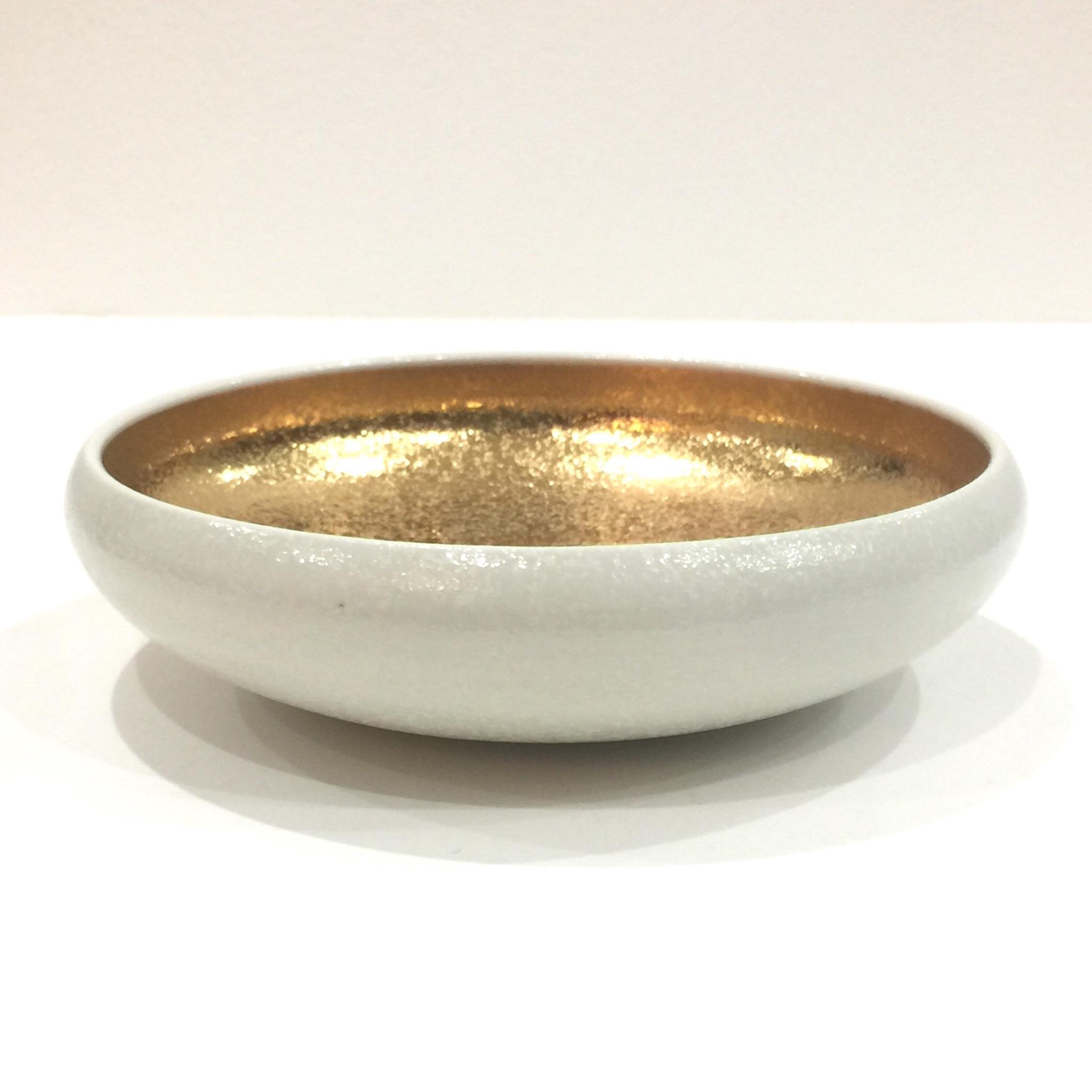 白マット内金   6寸鉢