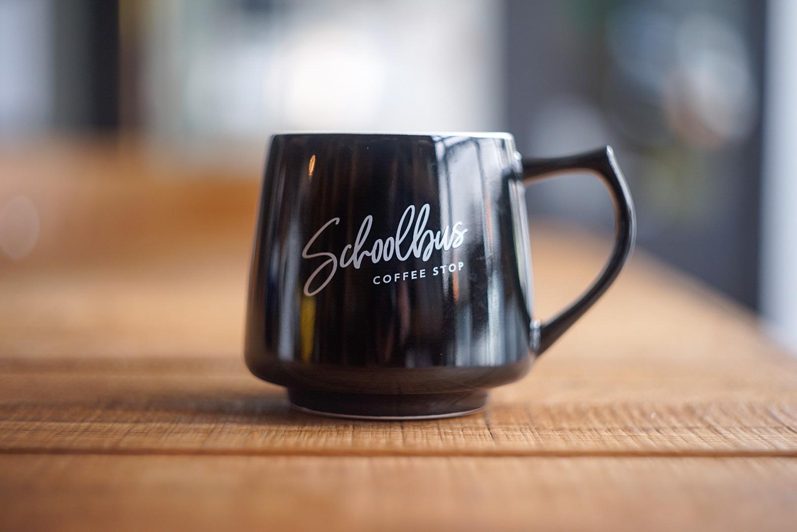Motomachi mug cup -Black-