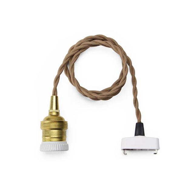 """Brown Cord """"100cm(E26)"""""""