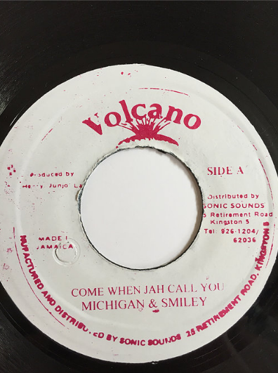 Michigan(ミシガン) & Smiley(スマイリー) – Come When Jah Call You【7inch】