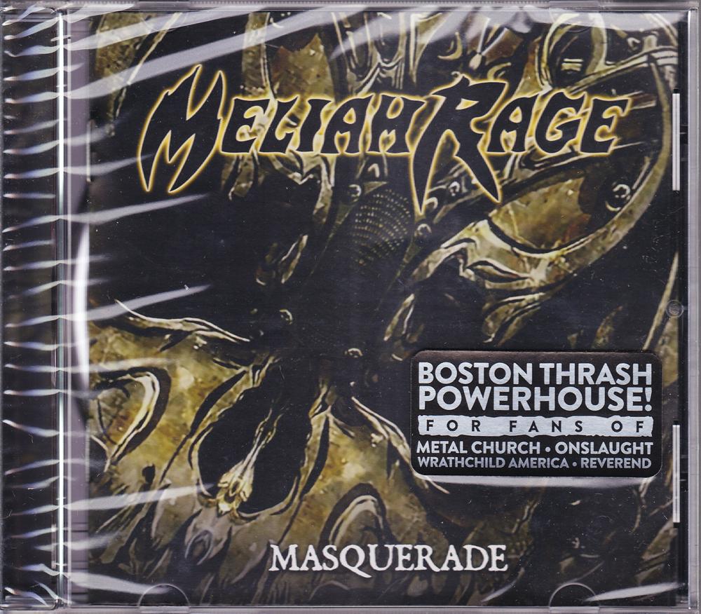 MELIAH RAGE 『Masquerade (Re-Issue)』