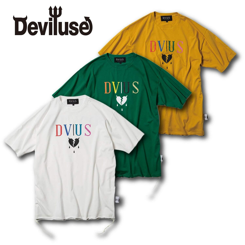 Deviluse(デビルユース) | Hearataches Big T-shirts