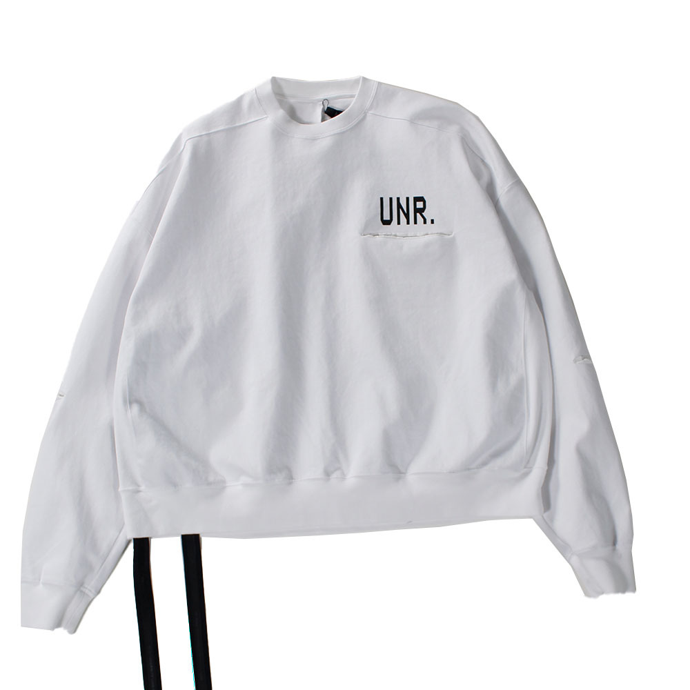 UNRAVEL White Long Tee