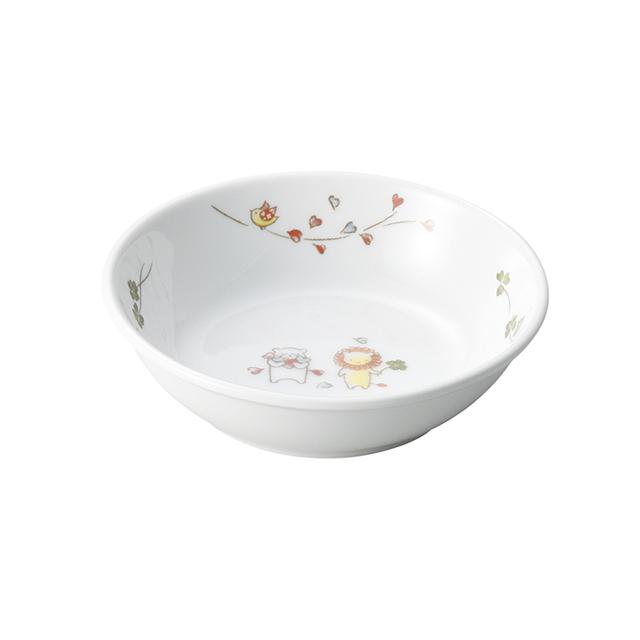 【1009-1360】強化磁器 9.8cm小皿 そよかぜ