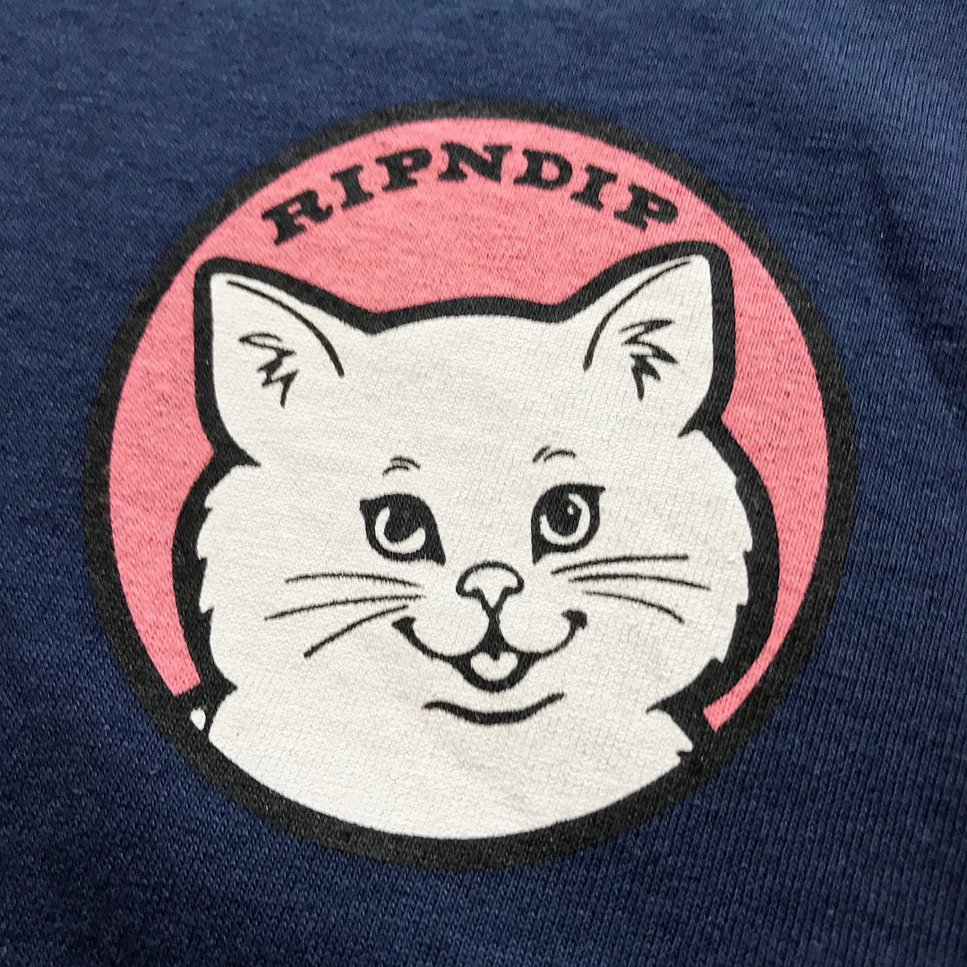RIPNDIP / STOP BEING A PUSSY LONG SLEEVE T-Shirt