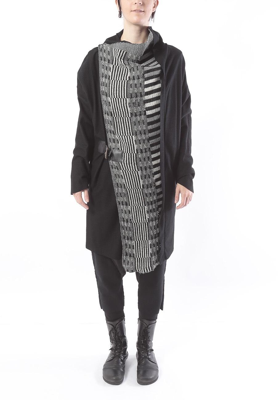[ 着るスカーフ]ウール : COAT STOLE コートストール 2111N inakabu ミハイルギニスアオヤマ[登録意匠][MADE IN JAPAN][税/送料込み]