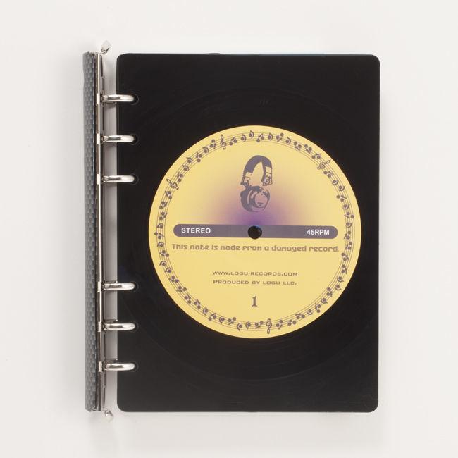 レコード盤がノートになった!Logu Recording Note 009_C