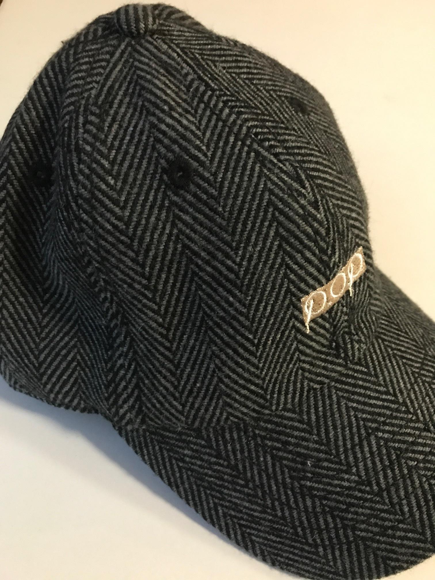 P.O.P CAP ブラックへリボーン(ウール) - 画像2