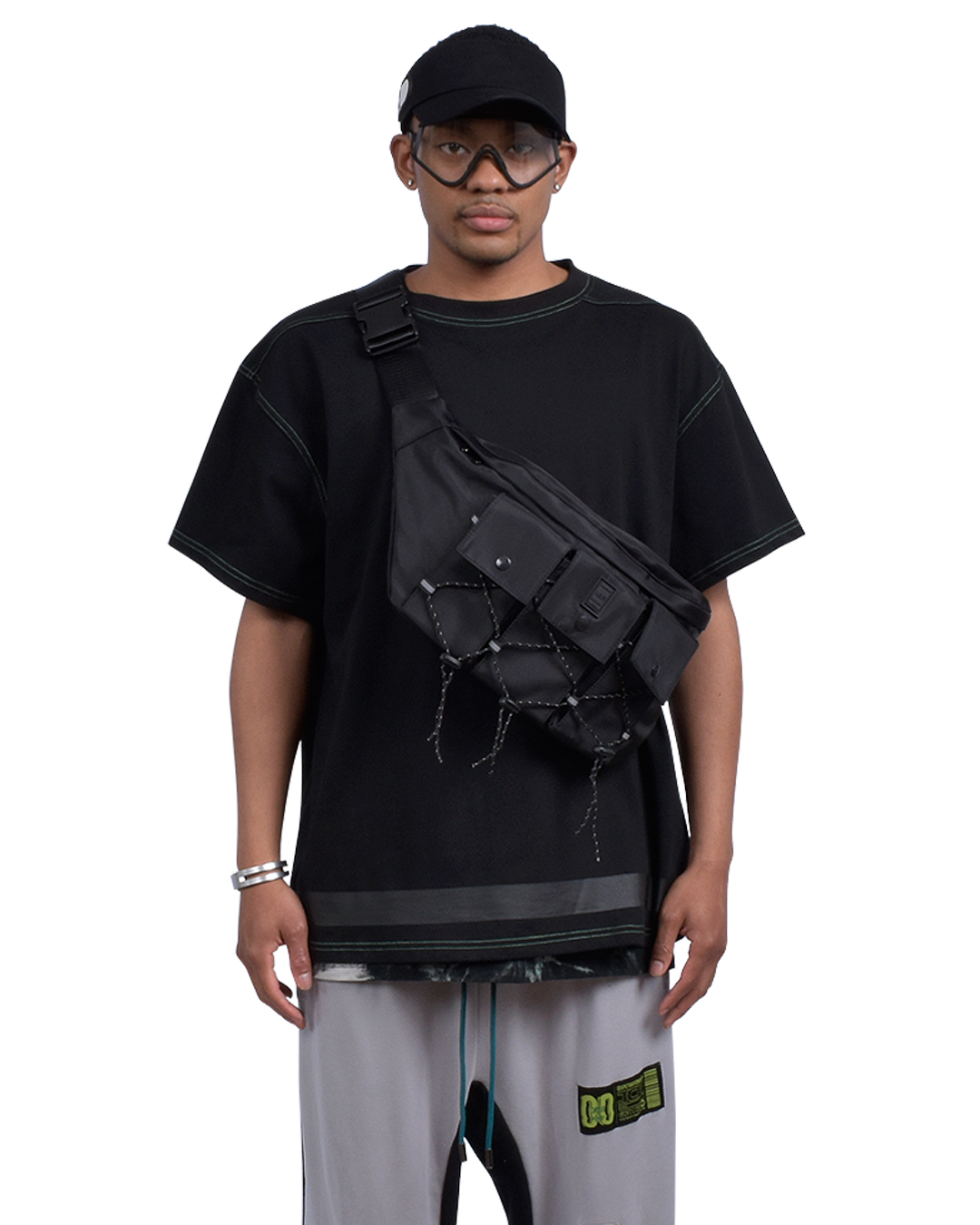 EQUIPMENT  WAIST BAG - BLACK