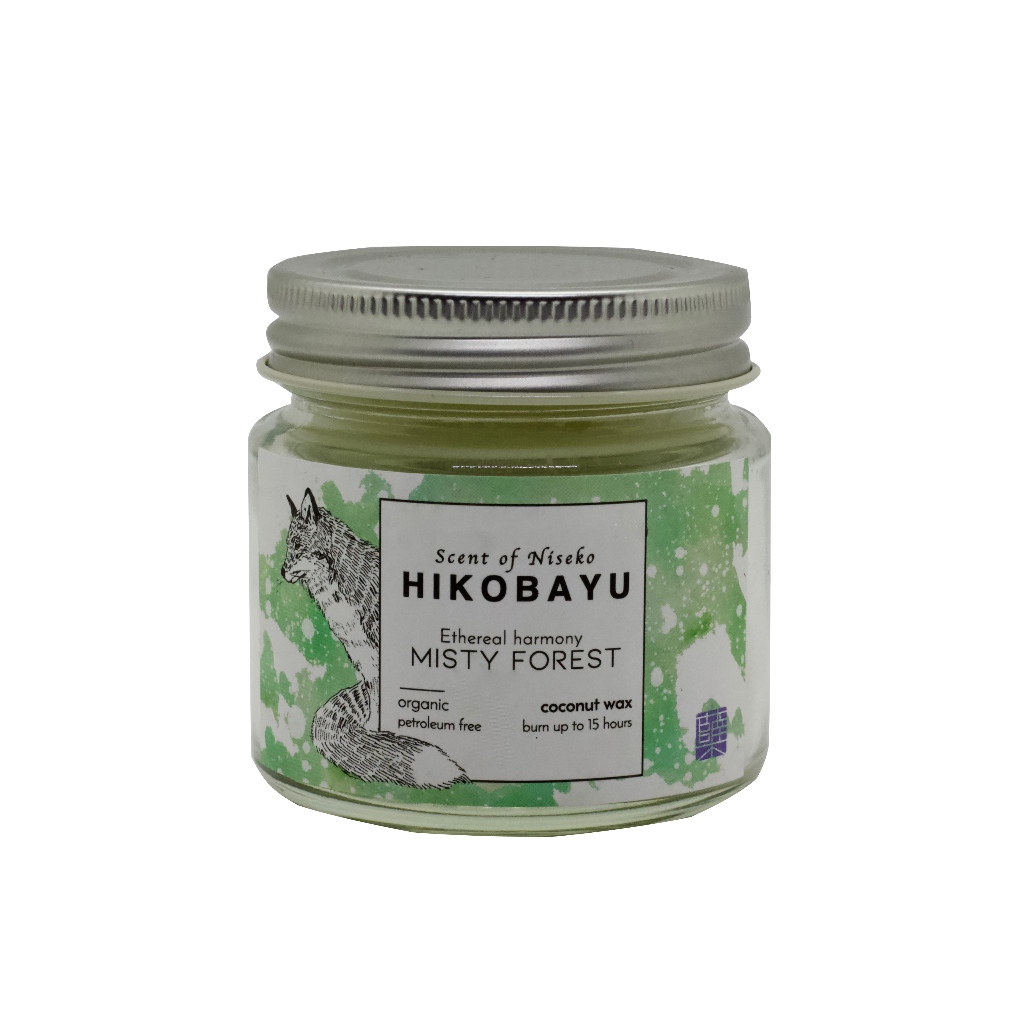 MISTY FOREST トドマツオーガニックキャンドル ETHEREAL HARMONY  CANDLE  15 hour