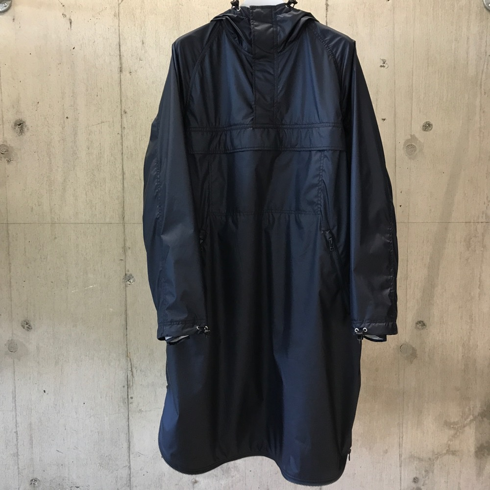 meanswhile 3Layer Loop Zip Over Coat