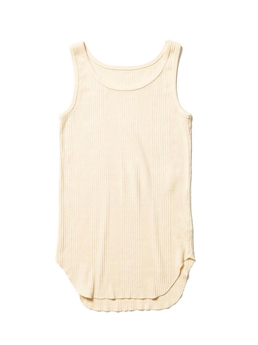 【FILL THE BILL】THROUGH NEEDLE TANKTOP