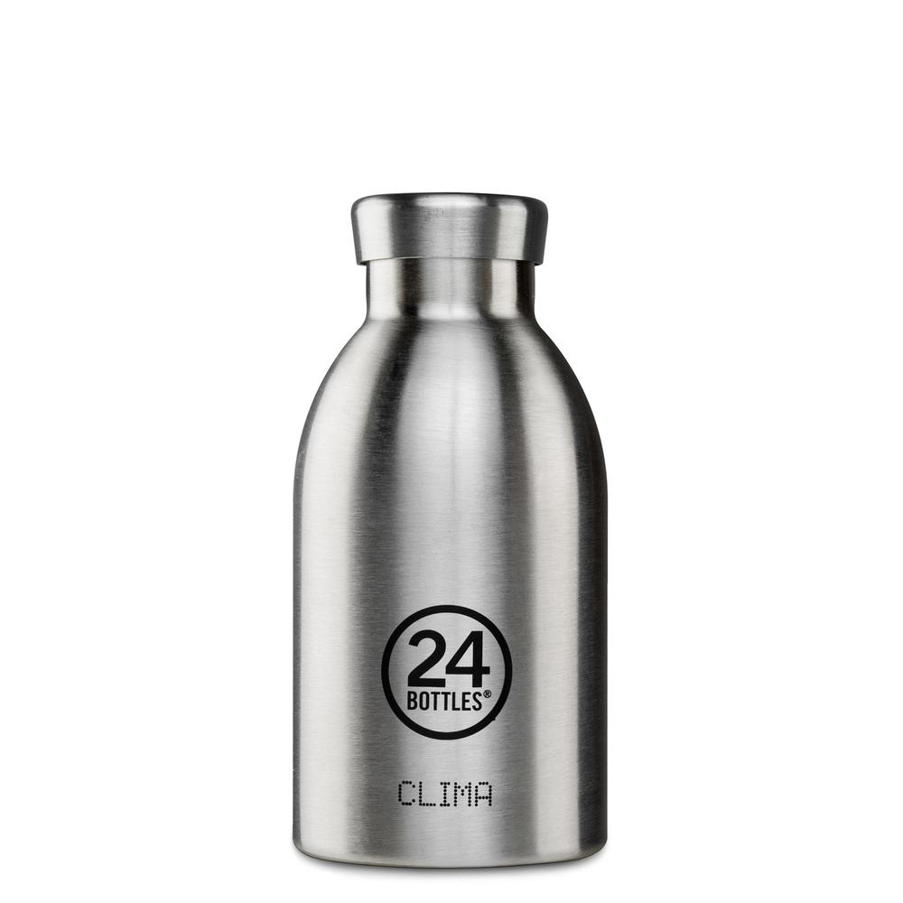 24BOTTLES Clima Bottle 330ml - Steel