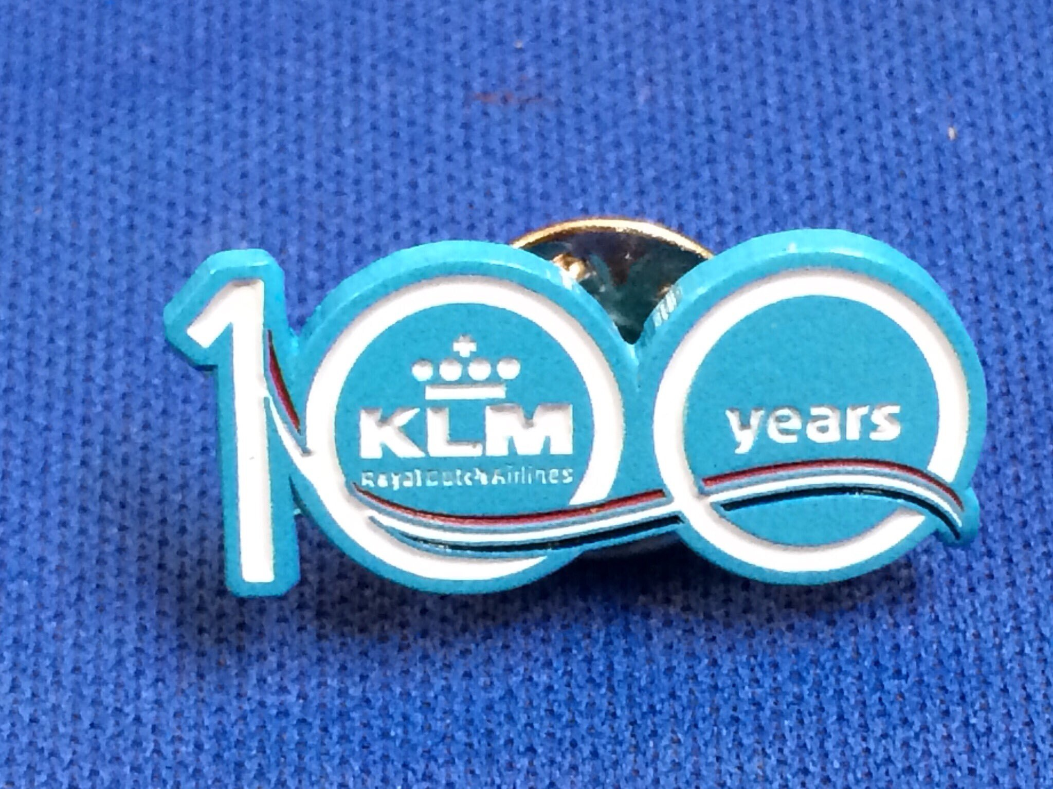 KLM100YEARS ピンバッジ