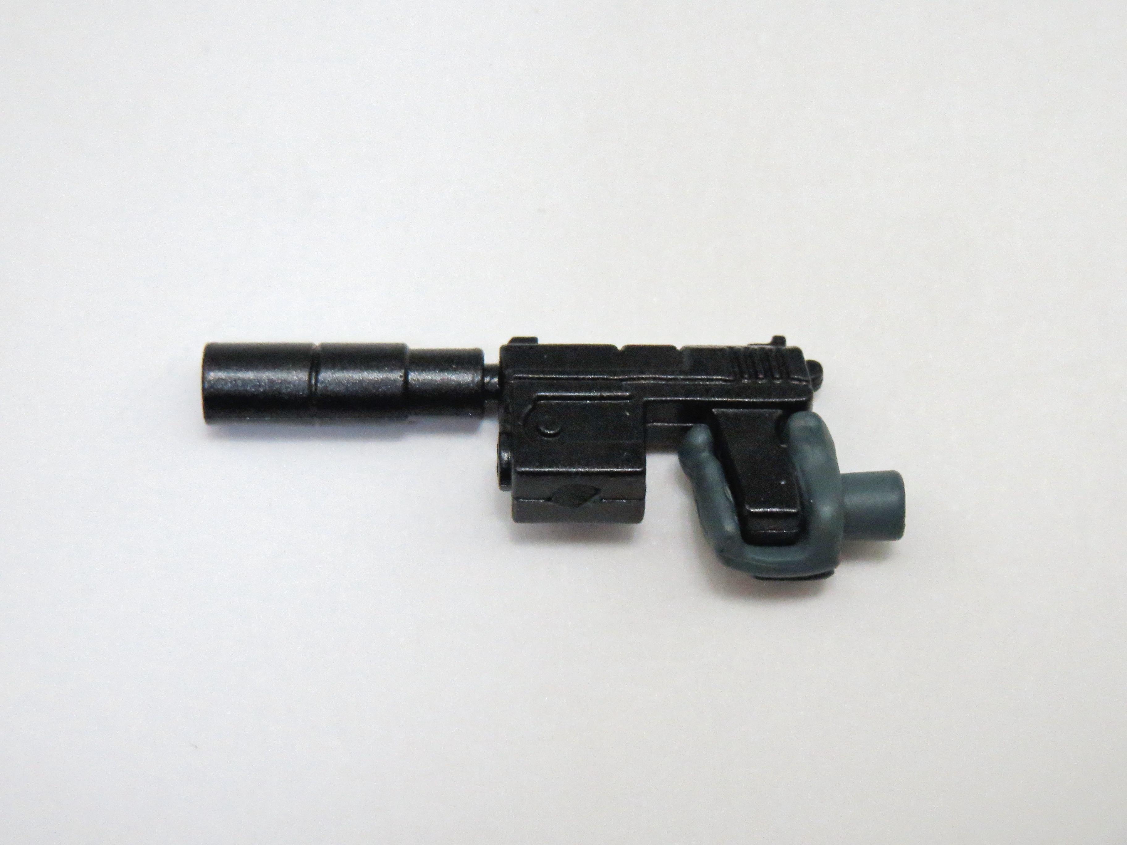 再入荷【538】 雷電 MGS2Ver. 小物パーツ ハンドガン ねんどろいど