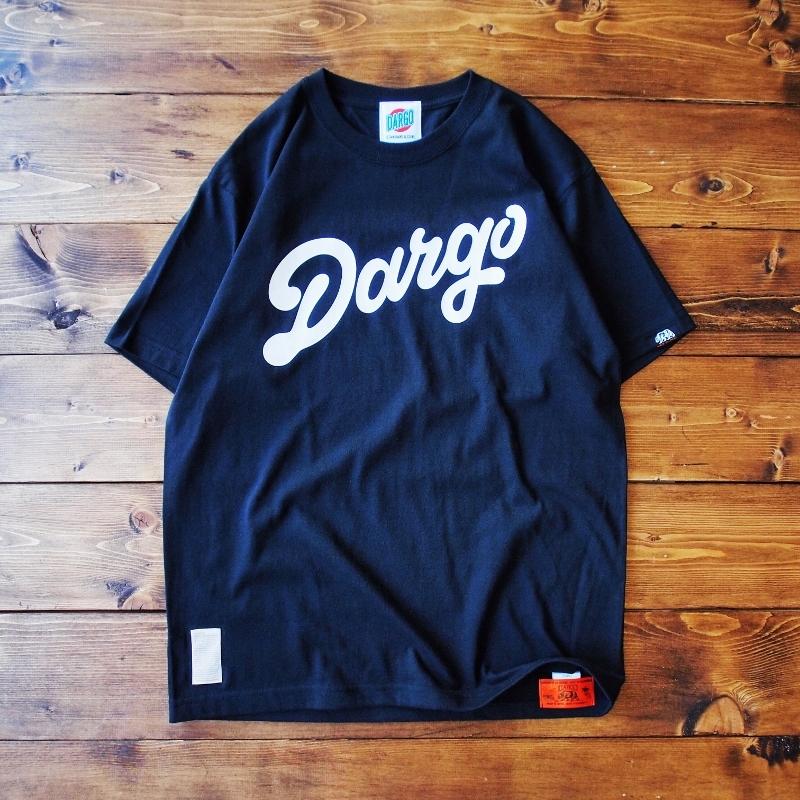 """【DARGO】""""DARGO Logo"""" T-shirt (BLACK)"""