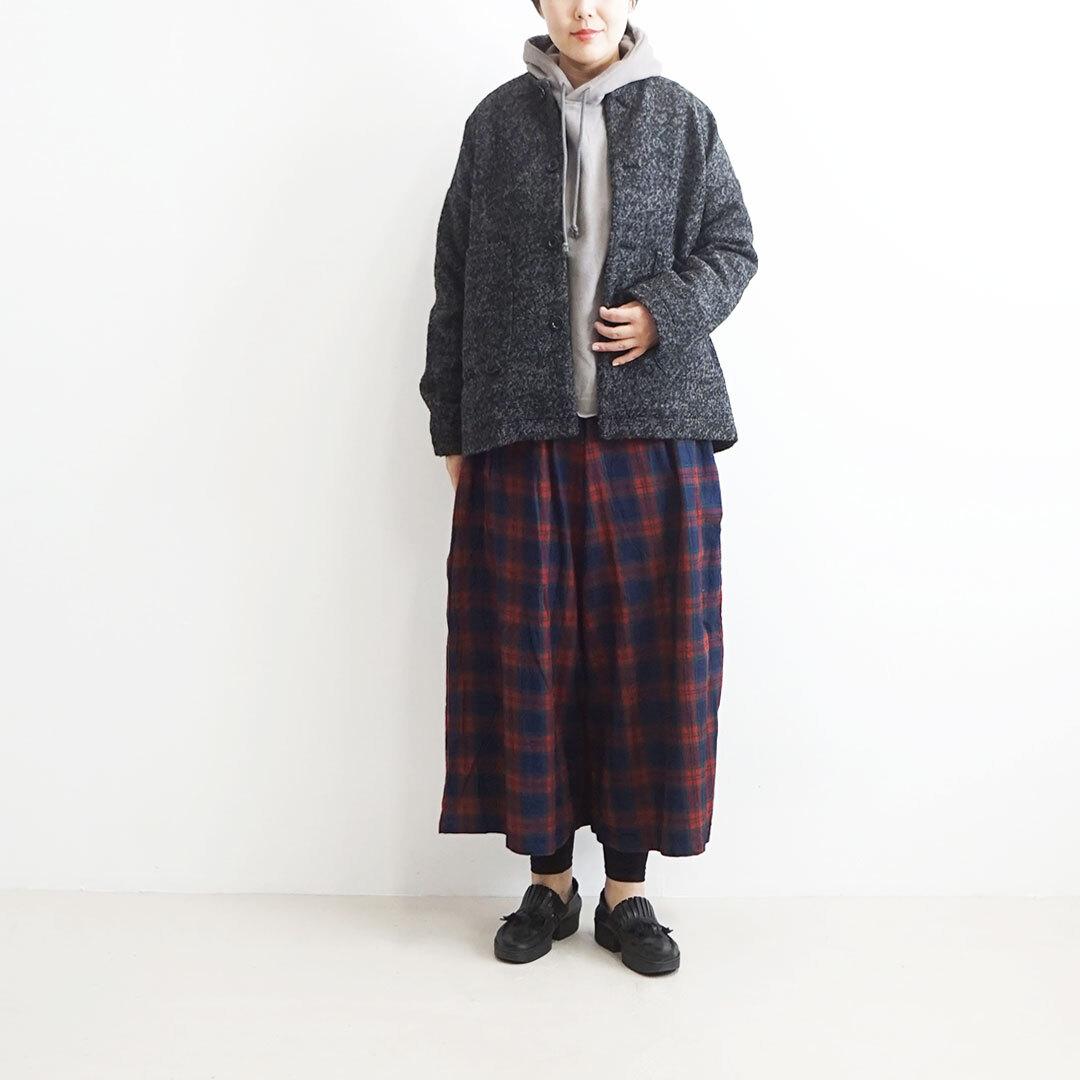 ichi イチ ブークレーノーカラージャケット (品番190634)