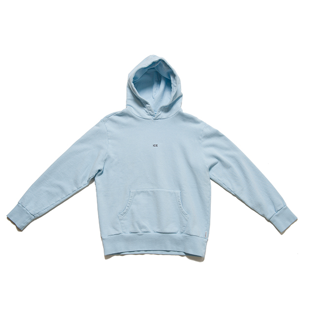 "SPICE COLOR HOODIE ""ICE"" - BLUE"