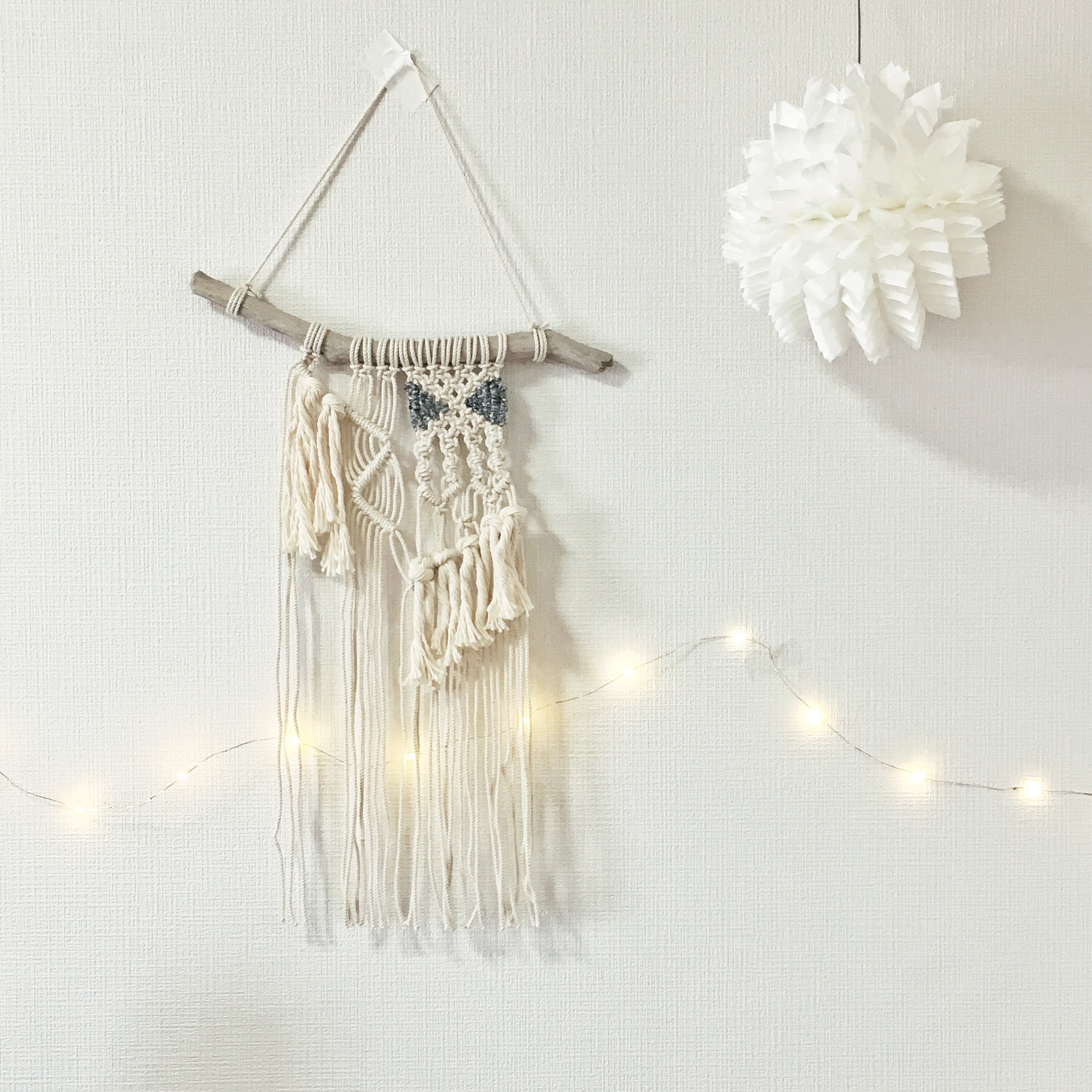 macrame tapestry - weaving mix -
