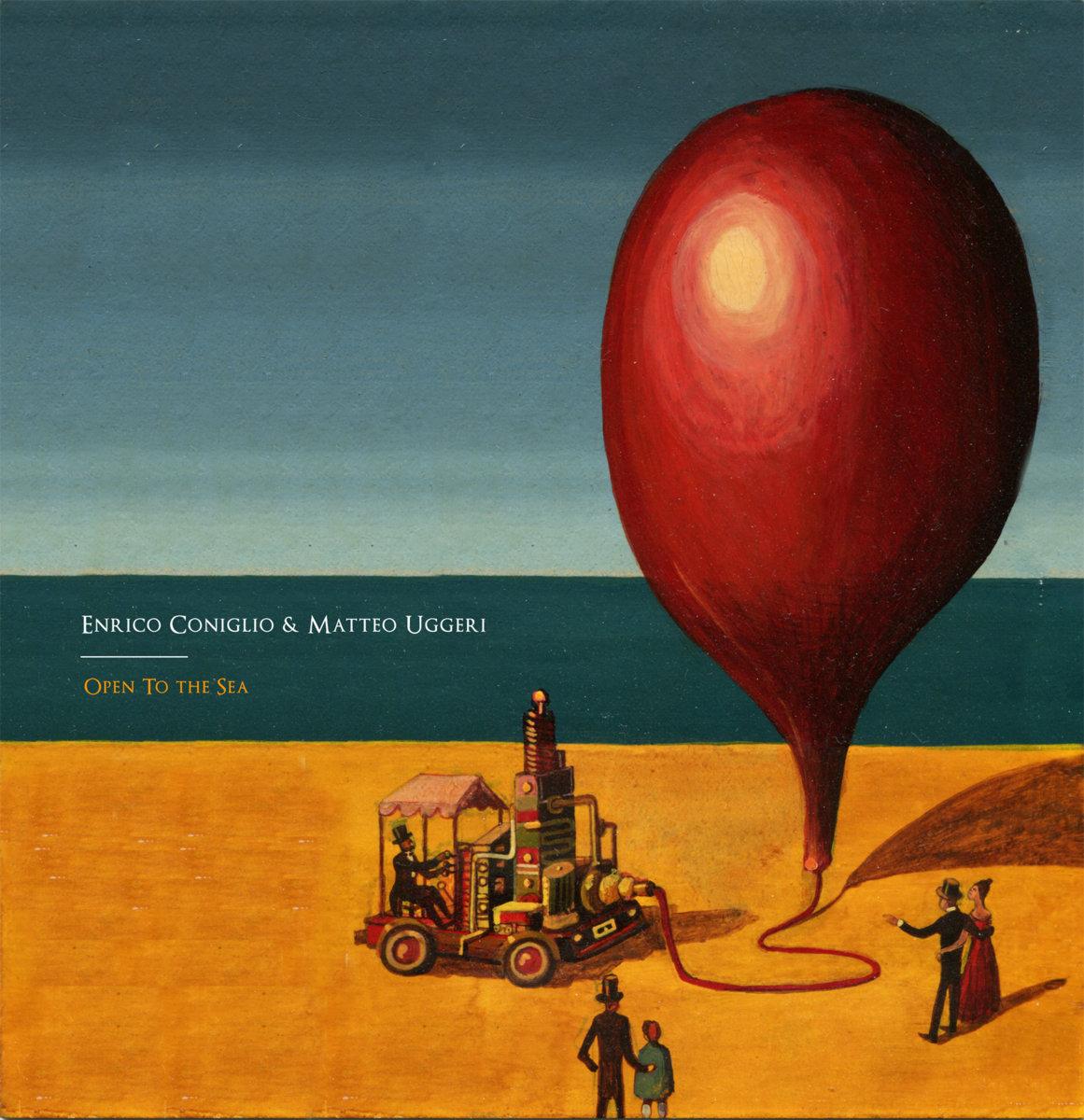 Enrico Coniglio & Matteo Uggeri 『Open To The Sea』 (Dronarivm)