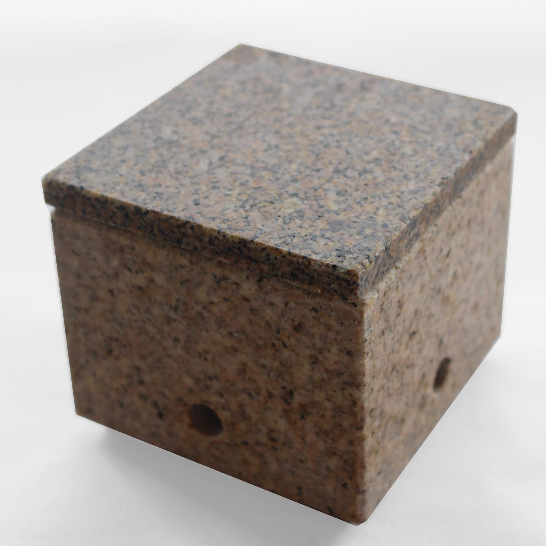 石の炙り鉢 蓋皿付き Sサイズ(黄色)