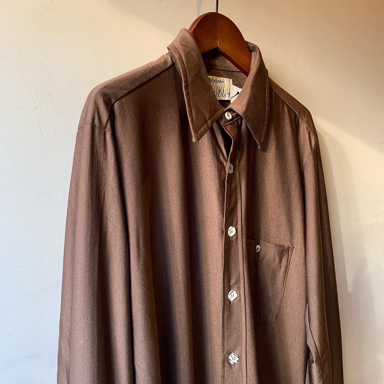vintage chocolate color shirts