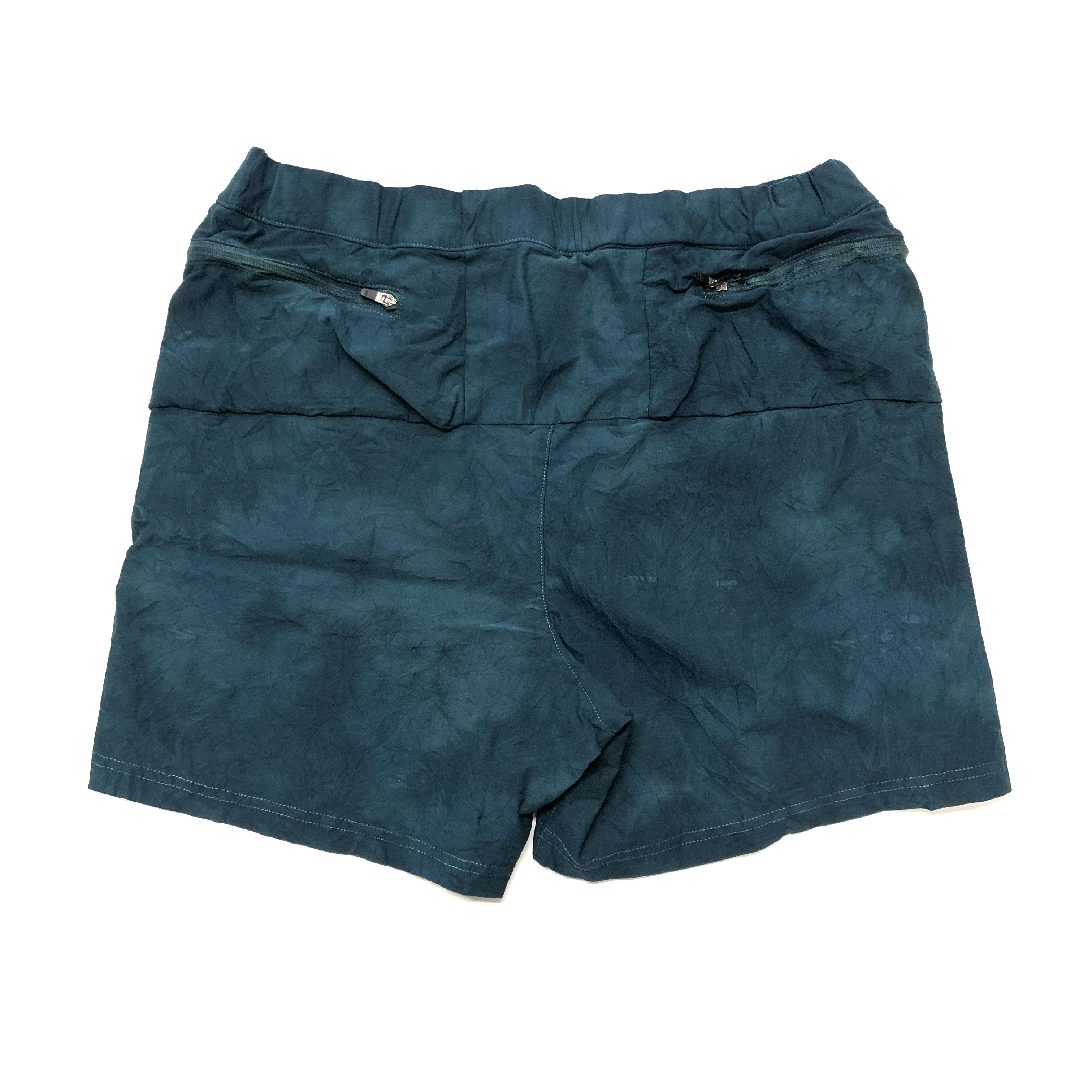 ranor / TIE DYEING MIDDLE SHORTS 《Greenblue》