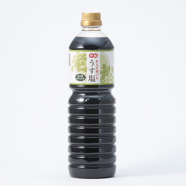老松 うす塩醤油【1リットル】 - 画像1